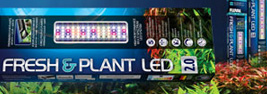 Iluminación led fluval fresh & plant para acuarios