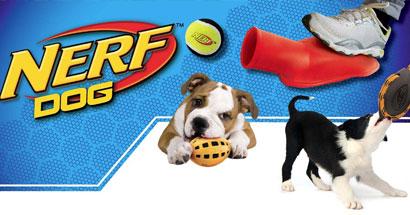 Nerf, juguetes para perros