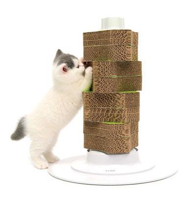 Rascador inteligente para gatos