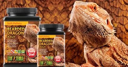 Alimento extruído para reptiles Soft Pellets Exo Terra