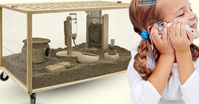 Eco Hábitat, espacio seguro para roedores, zona de esparcimiento