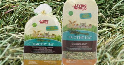 Heno Tymothy Hay Living World para roedores y conejos