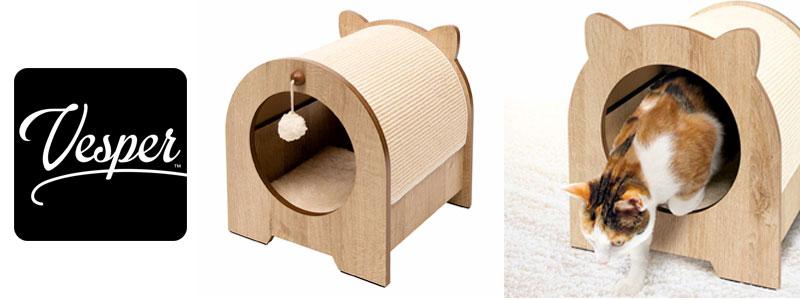 Mueble rascador para gatos Minou de Vesper