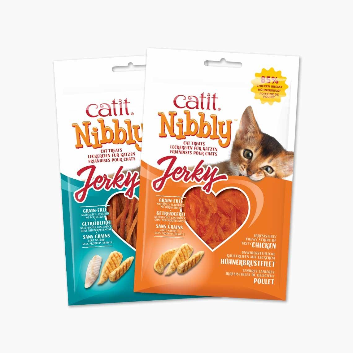 Snacks Catit Nibbly Jerky