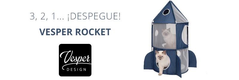 Despegue con el Vesper Rocket de Catit