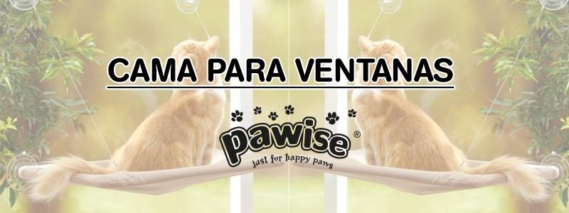 Cama para ventanas Pawise para gatos