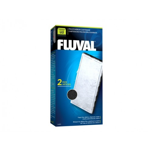 FLUVAL U2 POLY/CARBON (2 PCS)