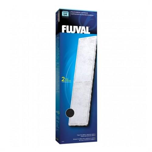 FLUVAL U4 POLY/CARBON (2 PCS)
