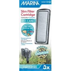 Cargas Filtro Slim Marina - Bio Carb