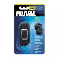 Filtro Interno Fluval Nano - Carbón 2Pc