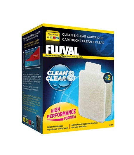 FLUVAL U Cartucho Clean & Clear
