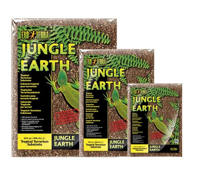 E.T SUSTRATO JUNGLE EARTH 26,4 LTS