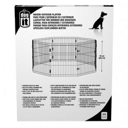 Parque Dogit Playpen 8 Paneles - Med. 60x76cm