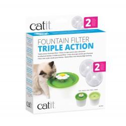 Cartucho Triple Acción para Flower Fountain Catit - 3lts 2Pc