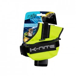 All For Paws Arnes y Correa fluorescente reflectante K-Nite - M-58-76cm