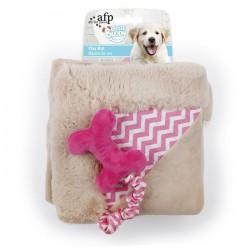 All For Paws Mantas para perros Little Buddy - Play Mat Rosa 50x50cm