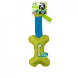 All For Paws Juguete Elástico Tugger - Elastic Tug Soft Bone 60cm