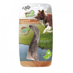 All For Paws Juguete Cuernos Wild & Nature - Cuerno de Cabra M 10,5cm