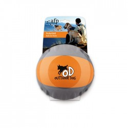 All For Paws Pelotas Out Door Dog - Pelota de Bolsillo Naranja 6,6cm