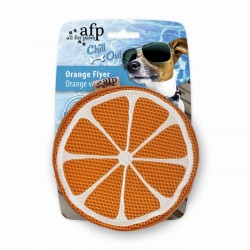All For Paws Juguetes Hidratantes Chill Out - Disco Naranja 15cm