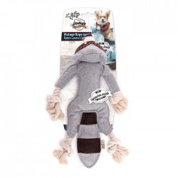 All For Paws Juguetes Peluche con Cuerda Vintage - Mapache