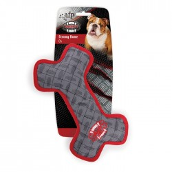 All For Paws Juguete Mighty Rex con Tela Balistica  - Hueso 33,5cm