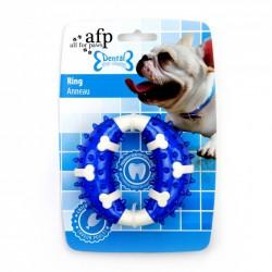All For Paws Jugetes Dental Dog Chews - Aro Dental - Sabor a Pollo 10,3cm