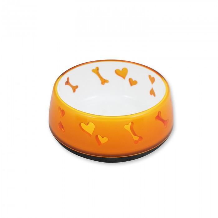 Comederos Dog Love Plásticos -Naranja M-600ml