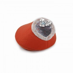 All For Paws Cama Reversible Vintage para gatos - Naranja