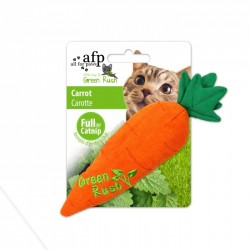 All For Paws Juguetes Para Gatos Green Rush Catnip  - Zanahoria 17cm