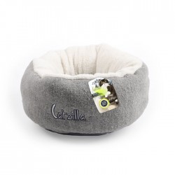 All For Paws Cama Mellow Catzilla para Gatos  - Gris