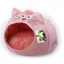 All For Paws Cama Meow Catzilla para Gatos  - Rosa