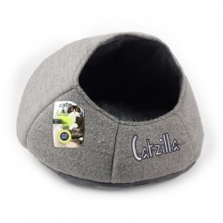 All For Paws Cama Nido Catzilla para Gatos  - Gris