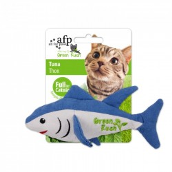All For Paws Juguetes Para Gatos Green Rush Catnip Animales  - Atún 16,5cm
