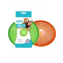 Pawise Juguetes Flash Iluminados - Frisbee 20cm