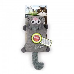 All For Paws Juguetes Grandes Catzilla para Gatos  - Whool´Heat - Azul/Verde/Gris 28cm