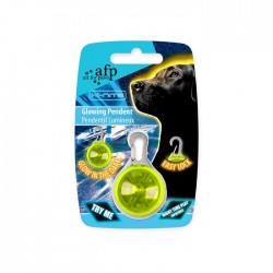 All For Paws Arnes y Correa fluorescente reflectante K-Nite - Colgante Iluminado 7cm