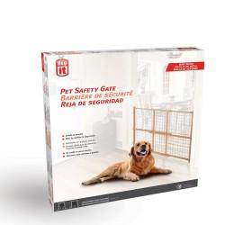 Barrera Extensible Perro Adulto y Razas Grandes Dogit - Metal 75-127 x 81 cm (AnxAl)
