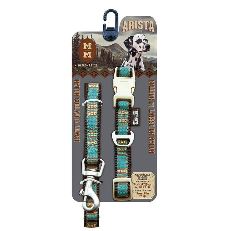 Arista/Zeus Collar&Correa Med. Indie 1,5×27-33cm