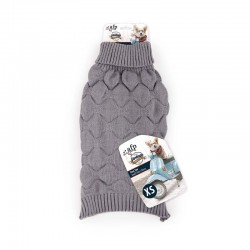 All For Paws Jersey Vintage Dog  - Waver Gris XS