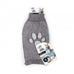 All For Paws Jersey Vintage Dog  - Huella Gris S