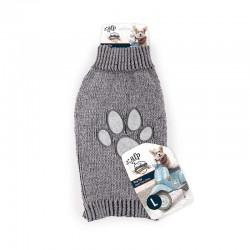 All For Paws Jersey Vintage Dog  - Huella Gris L