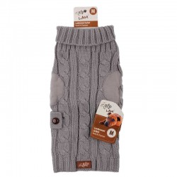 All For Paws Jersey LAM  - Wool Gris XS