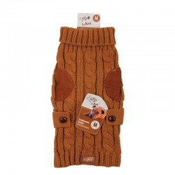 All For Paws Jersey LAM  - Wool Marrón Claro XS