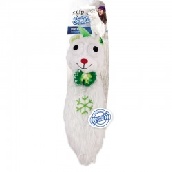 All For Paws Juguetes Crujientes Snow World - Oso