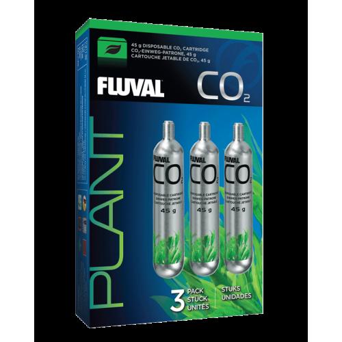 Fluval CO2 Cartucho Desechable 45g 3Pc