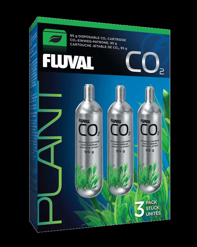 Fluval CO2 Cartucho Desechable 95g 3Pc