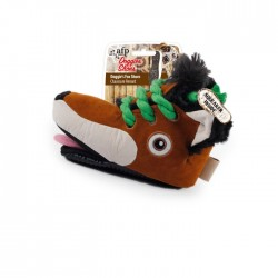 All For Paws Peluche Botines Doggies' Shoes - Zorro 20x14x15cm