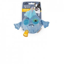All For Paws Peluches Monstruosos Monster Bunch - Bola Azul 12x16x8,3cm