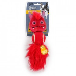 All For Paws Peluches Monstruosos Monster Bunch - 3 en 1 Rojo 28x8x6cm